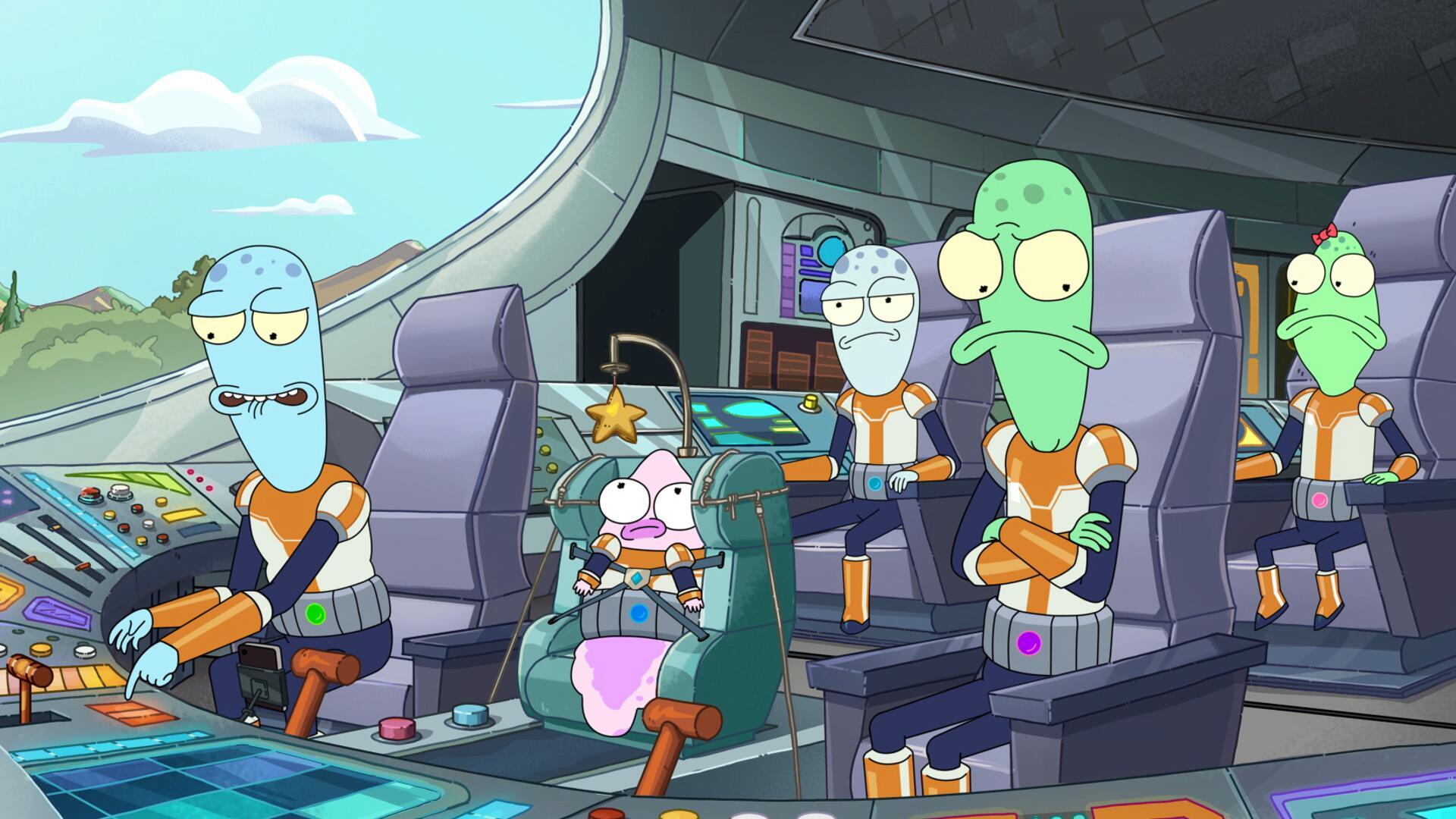 Solar Opposites säsong 2 har premiär 9 april.